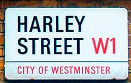 Harley St Sign